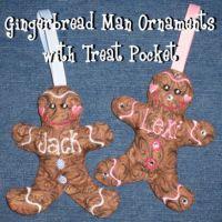 Gingerbread Man Treat Game
