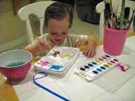 ABC Painting and Coloring Book 5x7