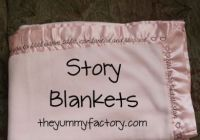 Story Blanket Set with Font